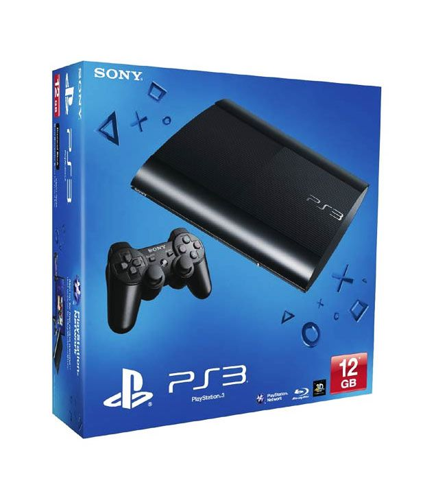 Sony Playstation 3 (12GB) (Black)