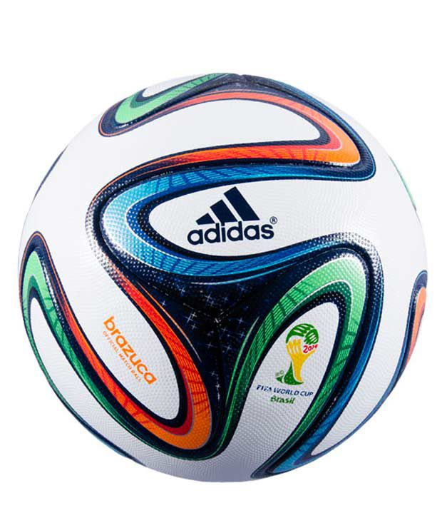 more photos 58f37 89375 Adidas Brazuca Football   Ball (Size 5)  Buy Online at Best Price on  Snapdeal