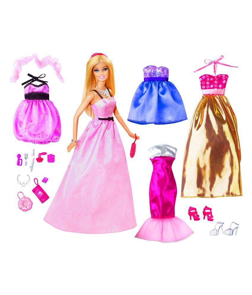 Barbie Dolls Fashion Games