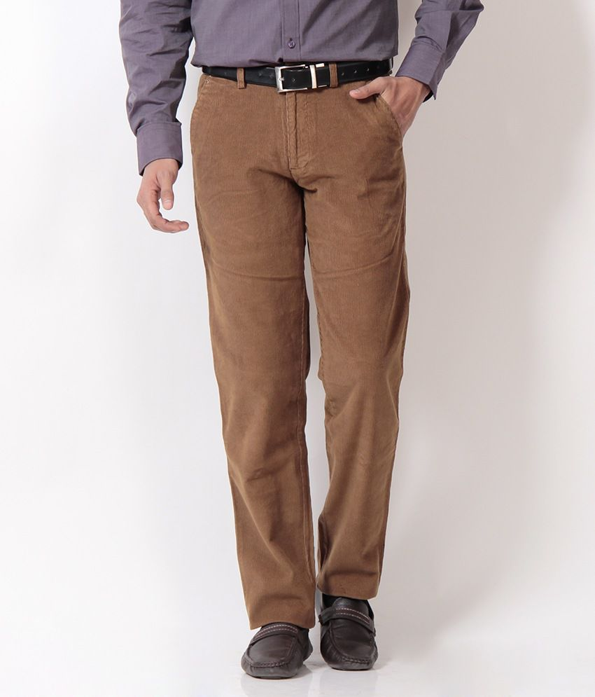 Boston Smart Brown Corduroy