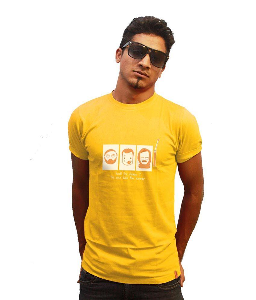 I Am Aam Elections 2014 Slot Machine T-Shirt-Yellow