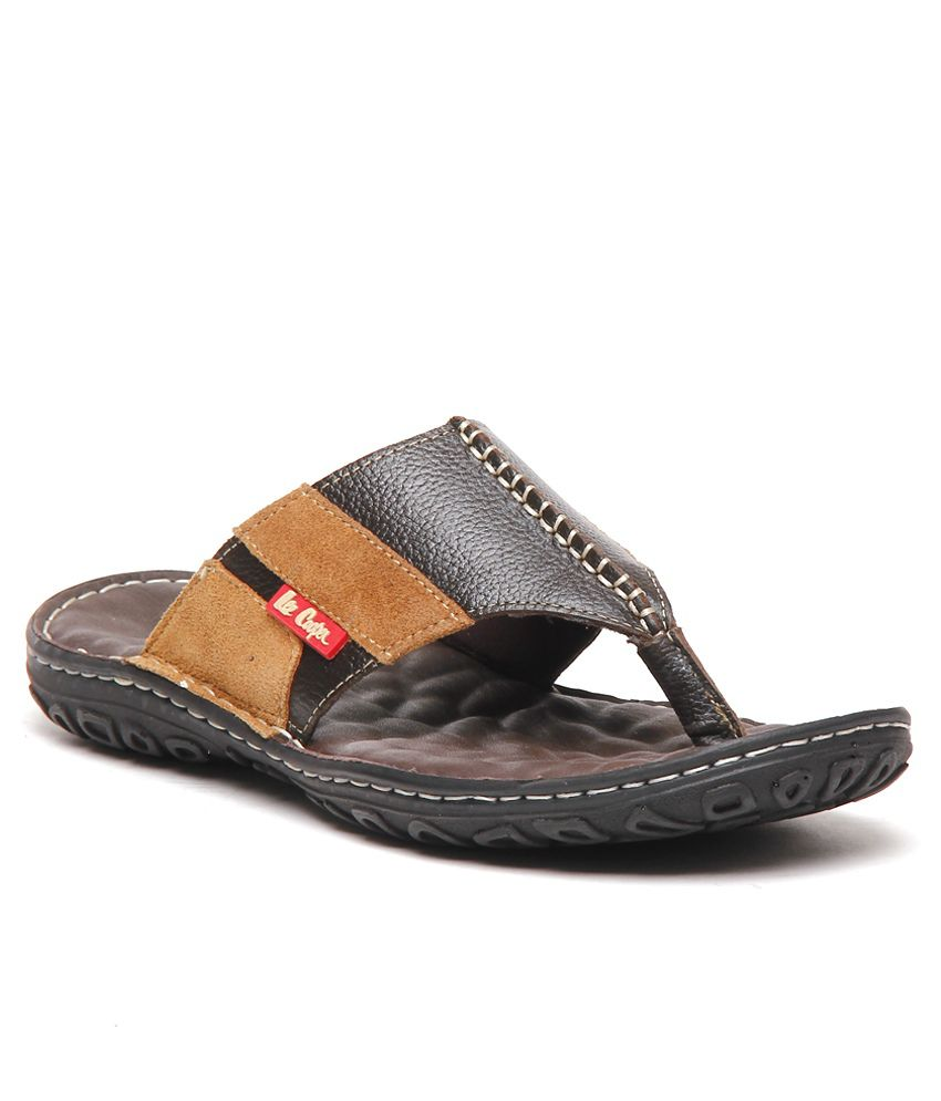 d83ee5ae4ef Lee Cooper Black Thong Slippers Art LC8459CFE Price in India