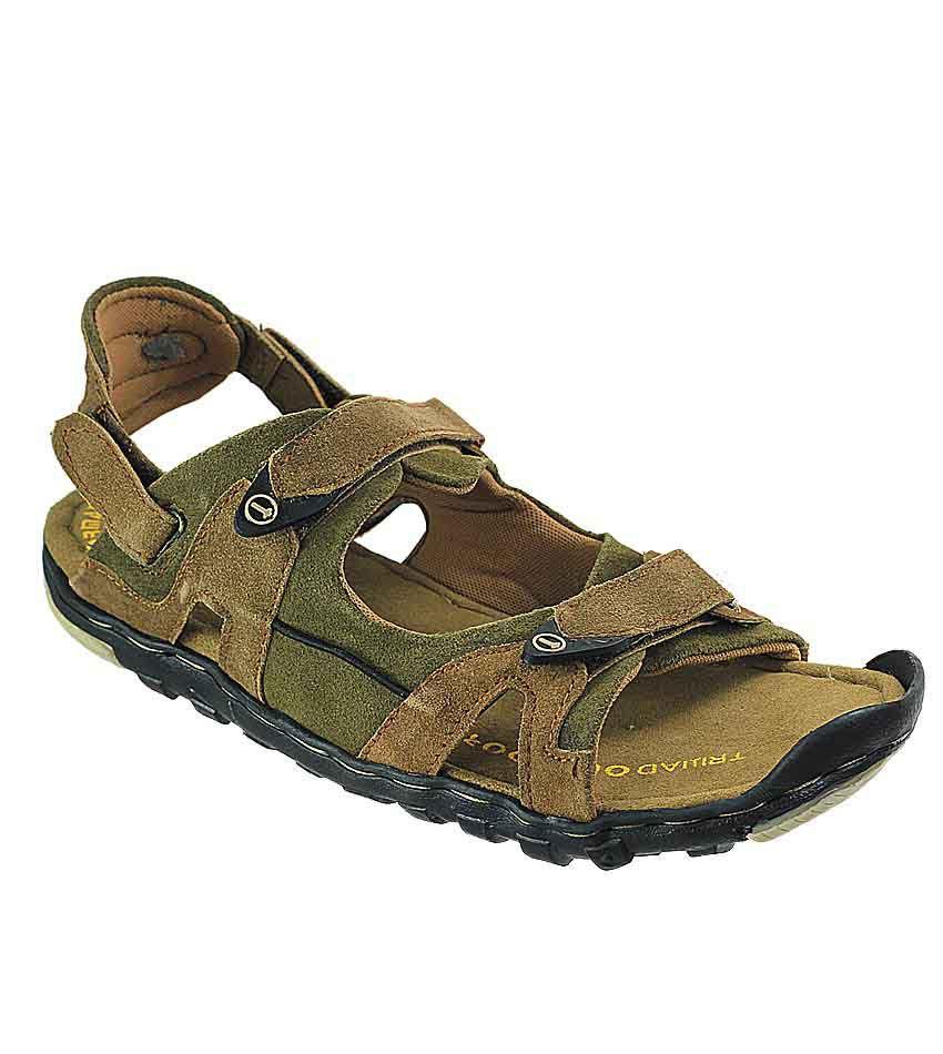 D'Ziner Fortuitus Tr8110-Chikoo Men Sandals