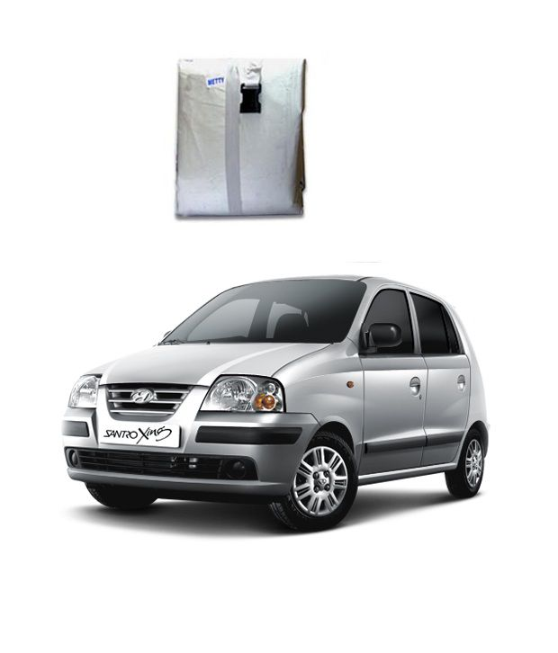 Faithos Car Body Cover Premium Silver Matty