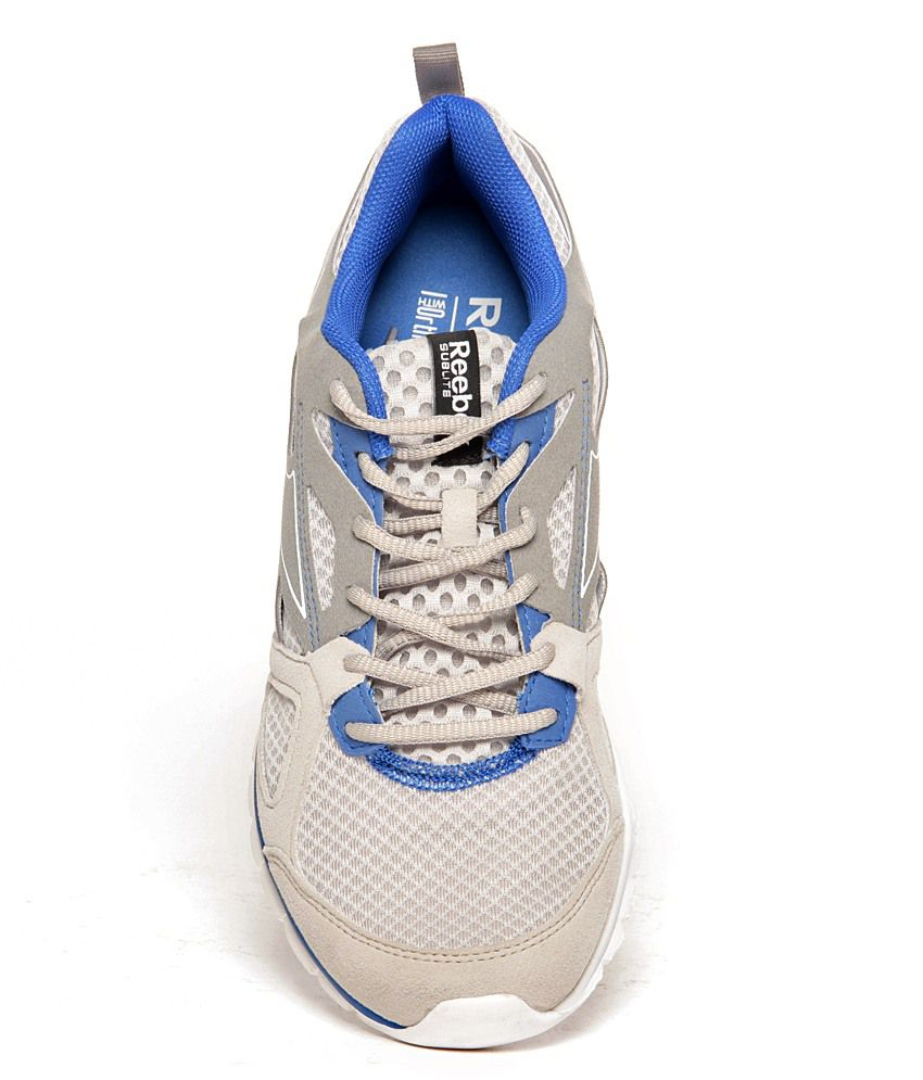 cc9bd20f27b Reebok Sublite Prime Grey   White Running Shoes - Buy Reebok Sublite ...
