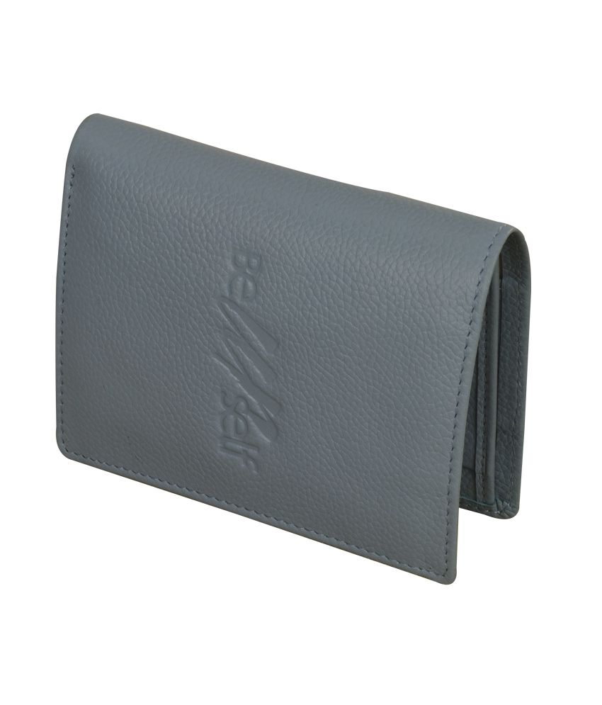 eZeeBags Unisex Vertical Wallet Blue