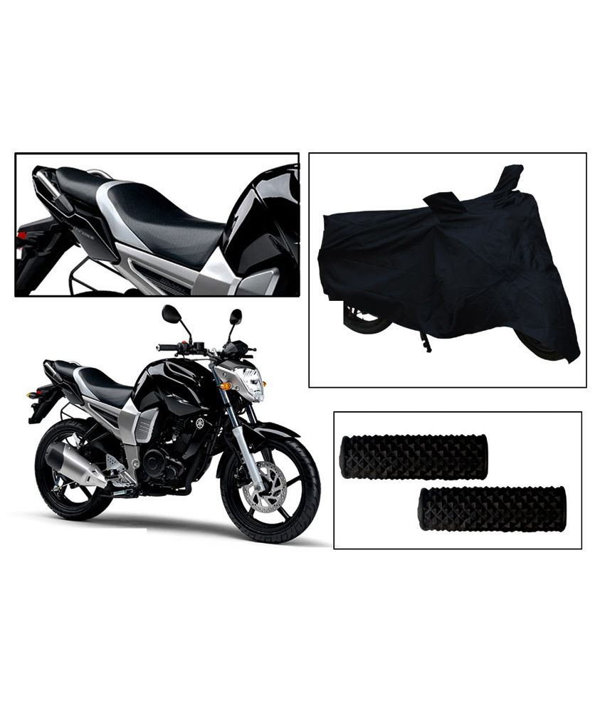 Excellent Vheelocityin Yamaha Fz 16 S Bike Seat Cover And Body Cover Combo And Free Accupressure Grip For Squirreltailoven Fun Painted Chair Ideas Images Squirreltailovenorg