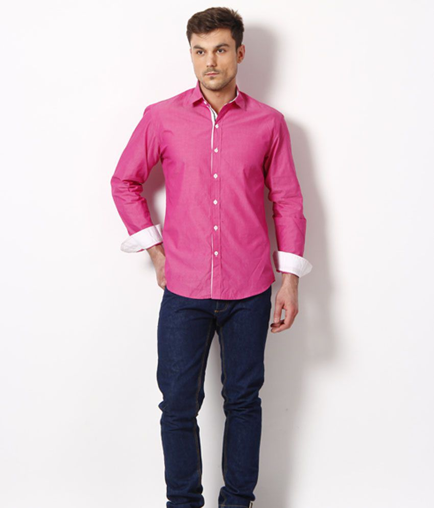 Bendiesel Casual Shirt Dark Pink - Buy Bendiesel Casual Shirt Dark ...