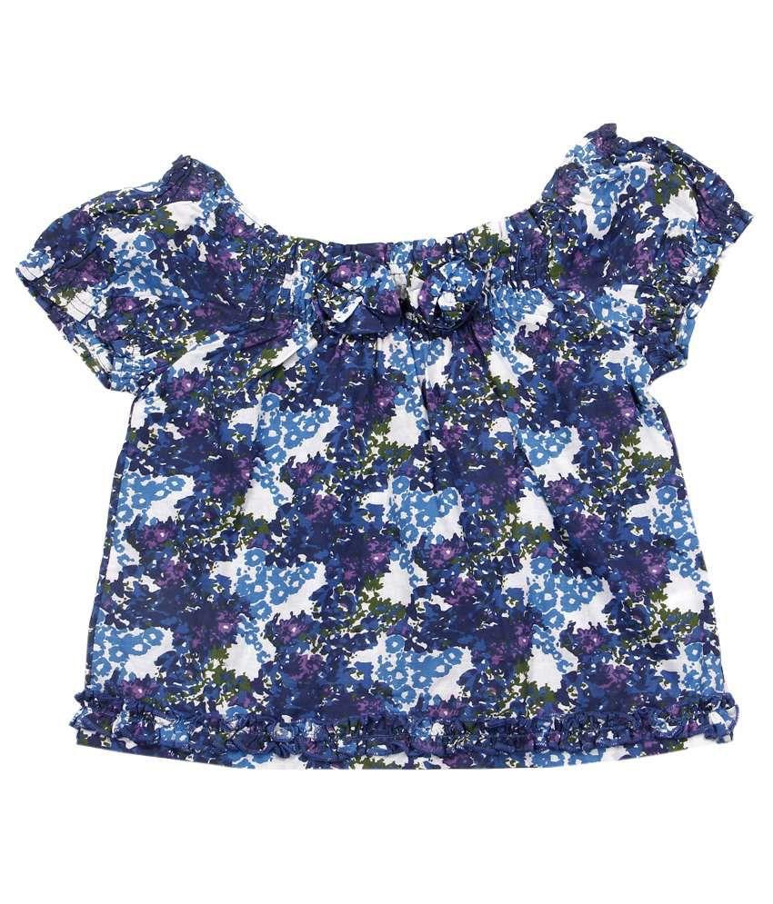 Jiwan Smart Blue Top For Kids