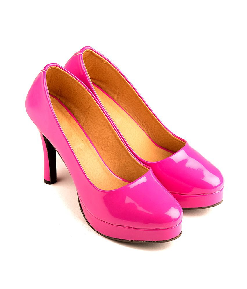 ce9a31c39 The Fashion Chor- Hot Pink Patent Pumps Price in India- Buy The Fashion  Chor- Hot Pink Patent Pumps Online at Snapdeal