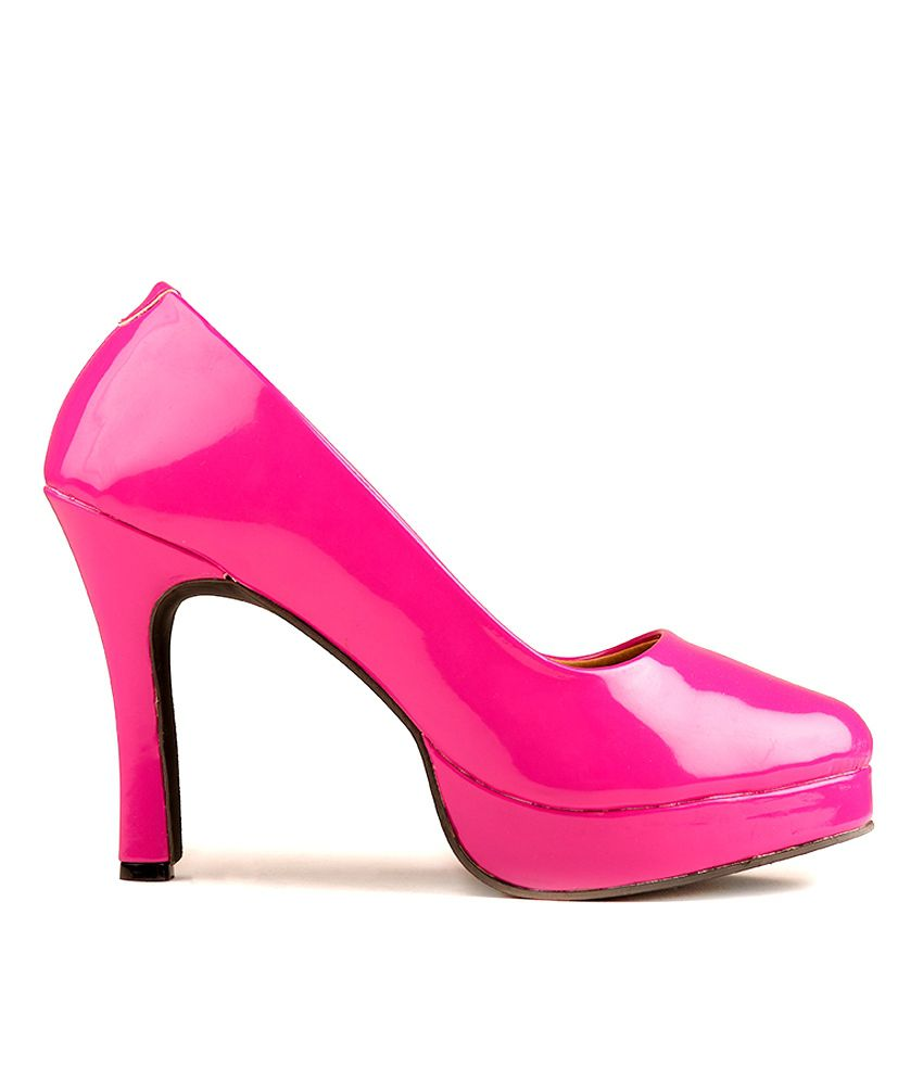 3c6352aff The Fashion Chor- Hot Pink Patent Pumps Price in India- Buy The ...