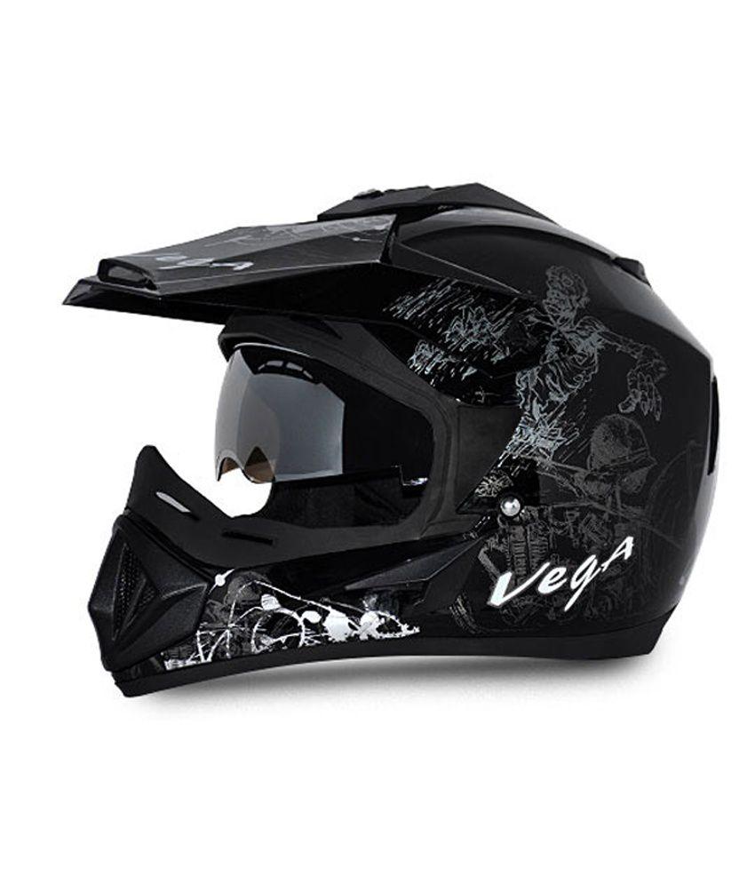 5e33c215 Vega Helmet - Off Road Sketched (Black Base With Silver Graphics): Buy Vega  Helmet - Off Road Sketched (Black Base With Silver Graphics) Online at Low  Price ...
