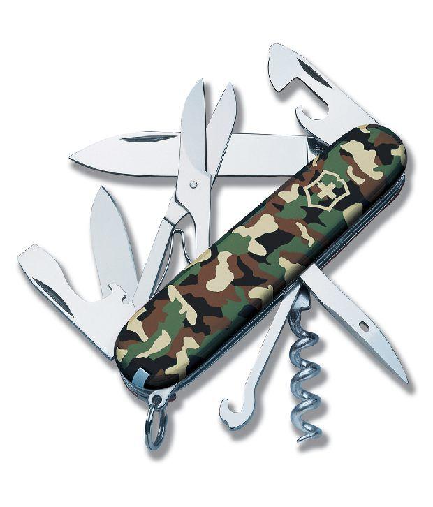 Victorinox Swiss Army Knifeclimber Camouflage Camoflage