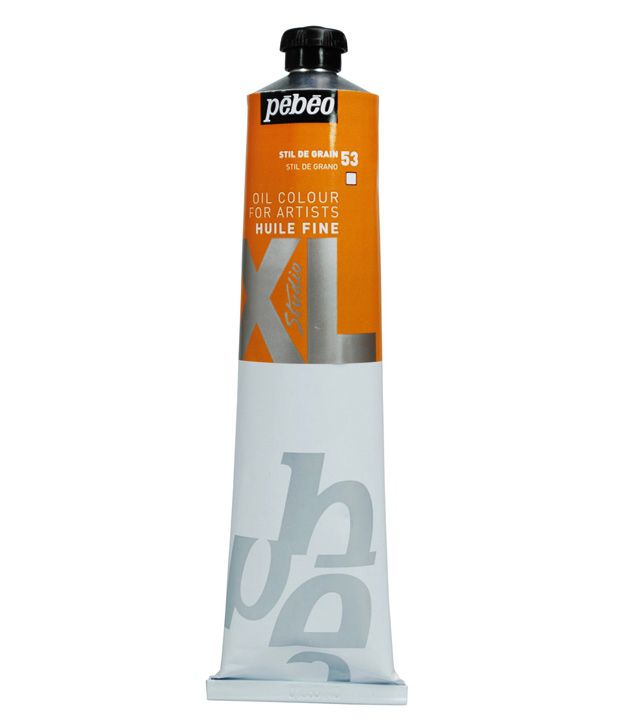 Pebeo xl fine oil paint orange buy online at best price for Oil paint price