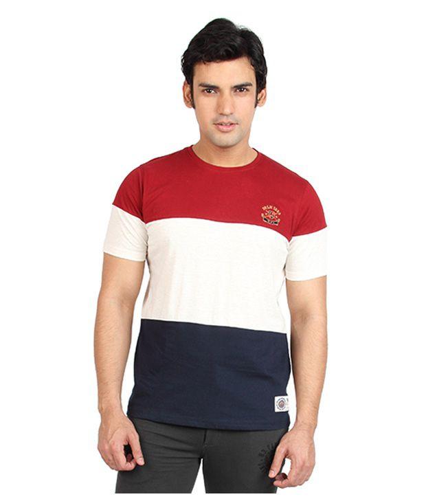 Proline Polished Multi-Coloured Cotton T-Shirt