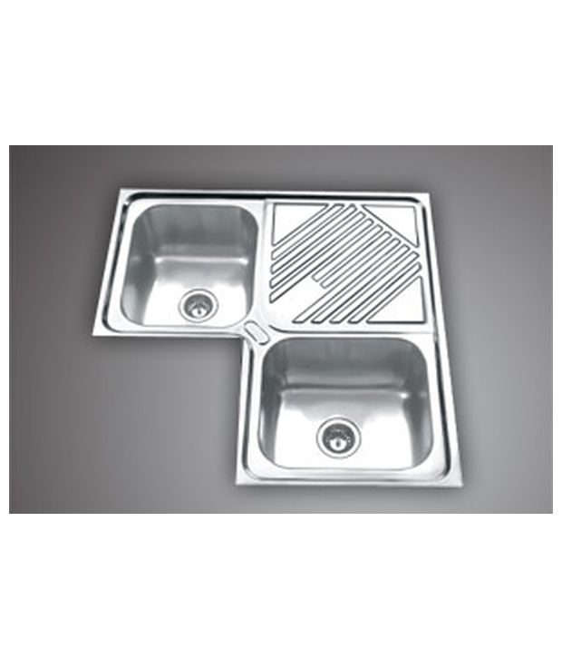 Buy Jayna Corner Sink Glossy Finish Online At Low Price In India Snapdeal