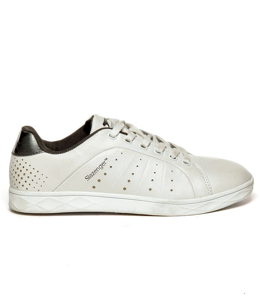 Slazenger White Sneaker Shoes