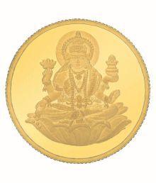 eGitanjali 2 GM 24KT 995 Purity BIS Hallmarked Laxmi Gold Coin