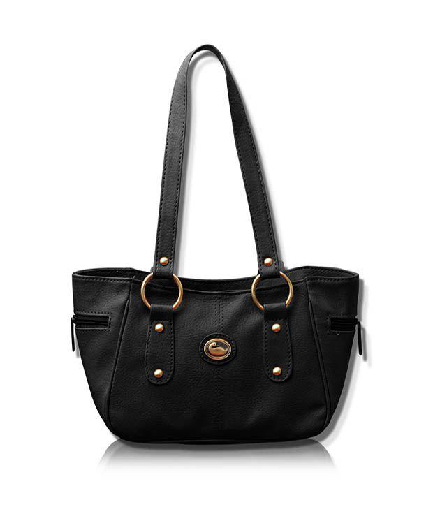 Fostelo Black Casual Handbags