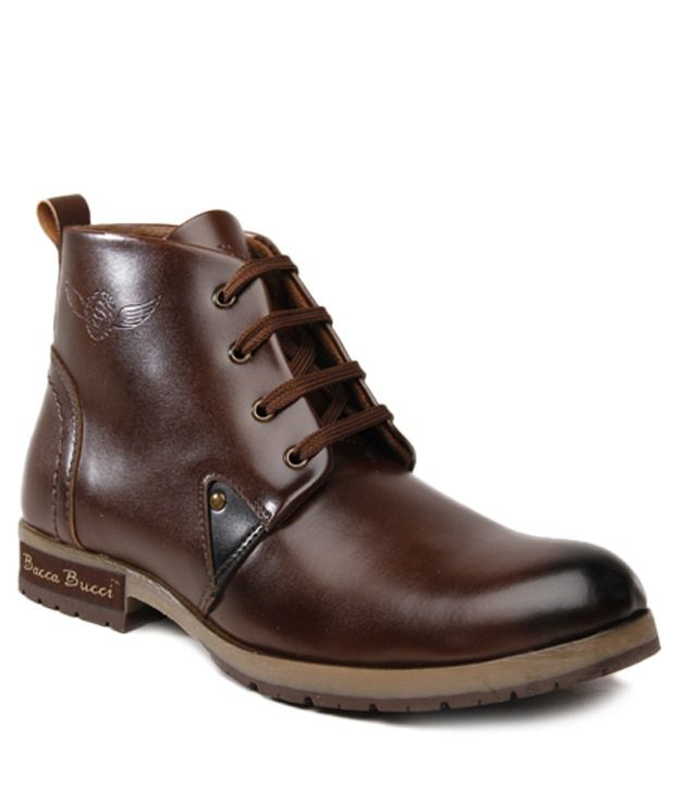 54db2dd4519 Bacca Bucci Ankle length Boots - Buy Bacca Bucci Ankle length Boots Online  at Best Prices in India on Snapdeal
