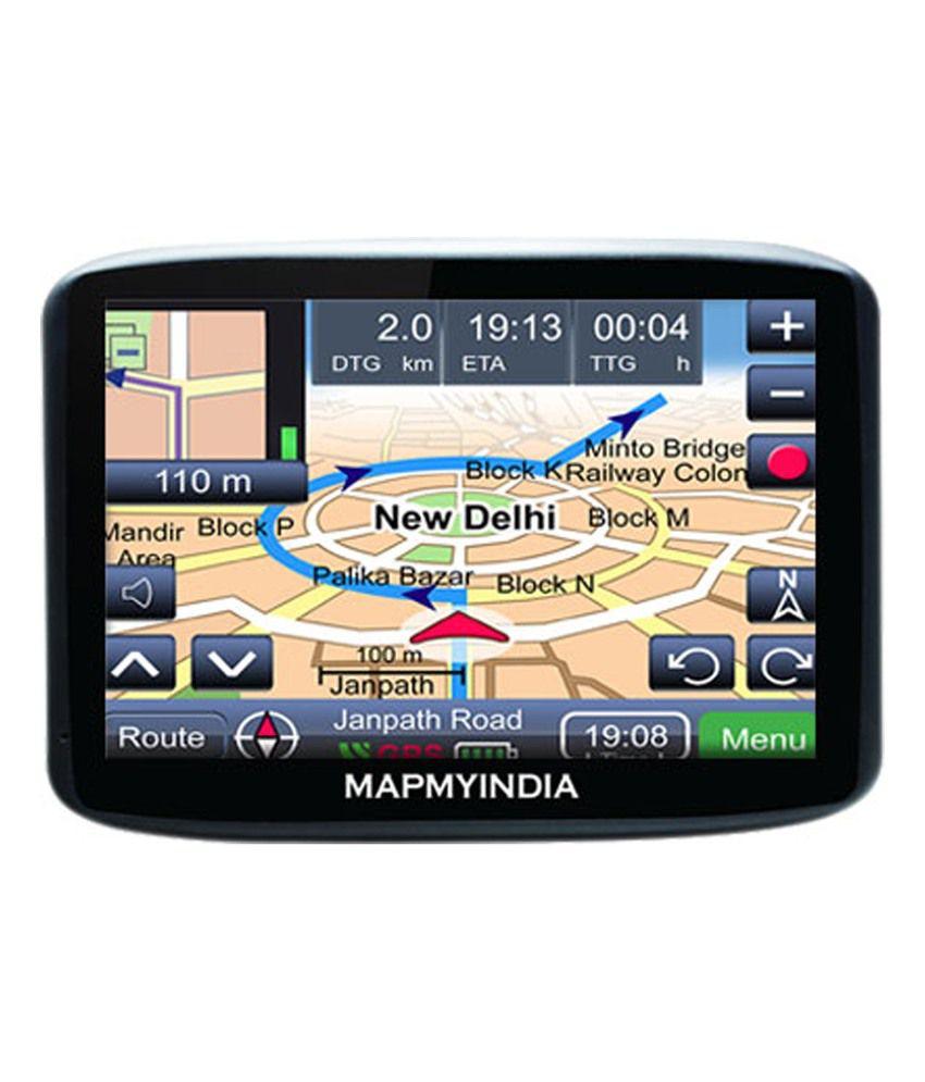 Mapmyindia Lx140ws Gps Device Buy Mapmyindia Lx140ws