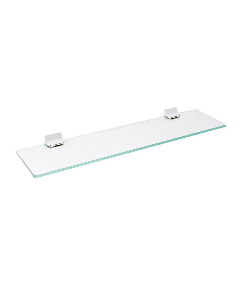... Regis Bathroom Wall Glass Rack   60 Cm