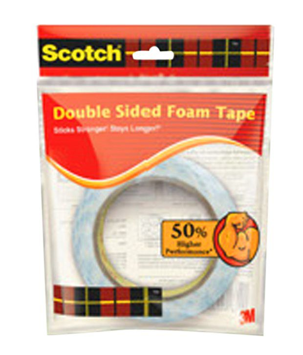 3m scotch 3 inch core double sided tape roll 24mm x 3m. Black Bedroom Furniture Sets. Home Design Ideas