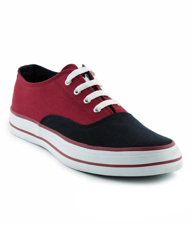 d992ac2629db Converse Navy Blue and Red Unisex Sneakers Price in India- Buy Converse  Navy Blue and Red Unisex Sneakers Online at Snapdeal