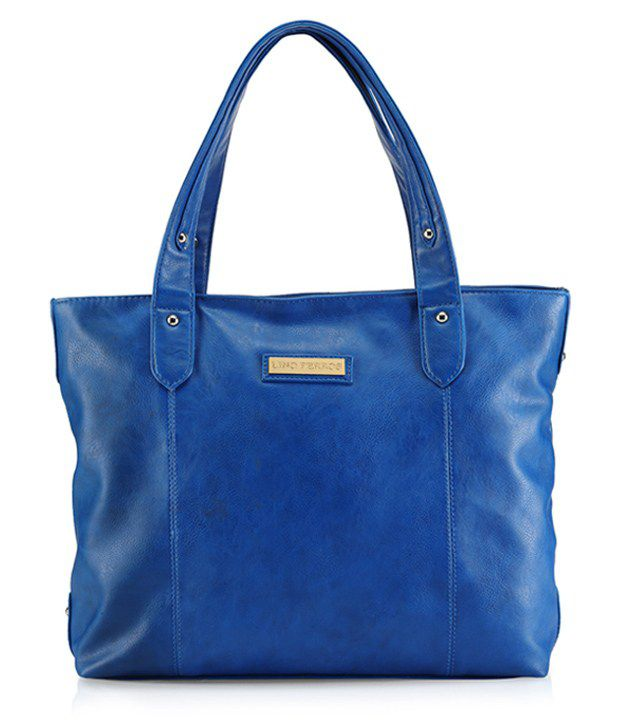 Lino Perros 8903421209262 Blue Shoulder Bag