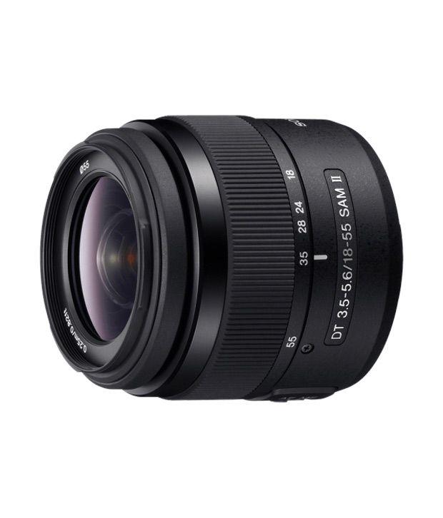 Sony DT 18-55mm F3.5-5.6 SAM II Lens