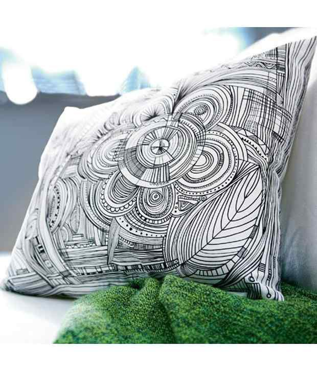 Magnificent Ikea Eivor Cushion Cover And Insert Together Full Cushion Machost Co Dining Chair Design Ideas Machostcouk