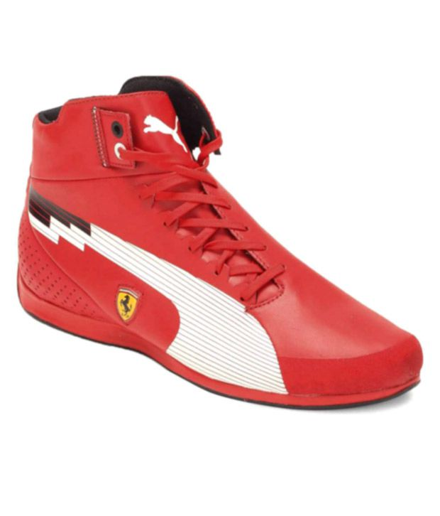 Puma Red Top Ferrari Shoes