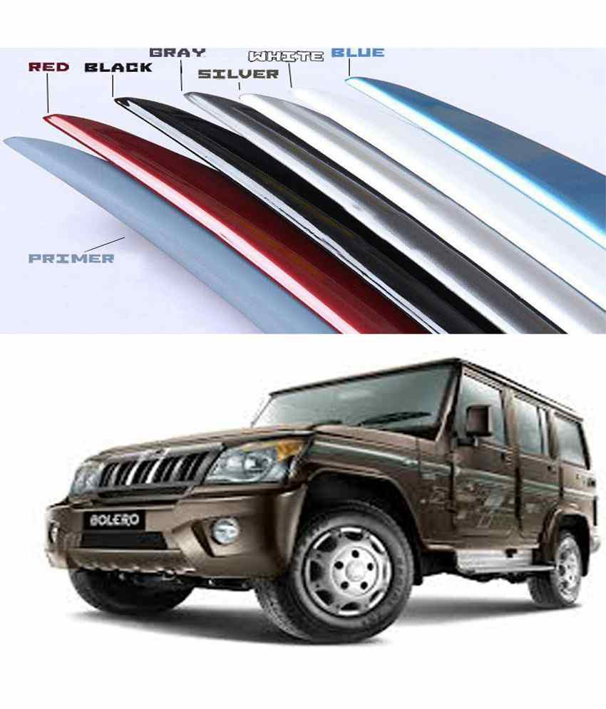 Shopper's Hub - Car Body Coloured Spoiler - Mahindra Bolero - Java