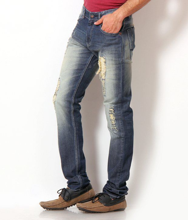 John Players Blue Rugged Jeans John Players Blue Rugged Jeans ...