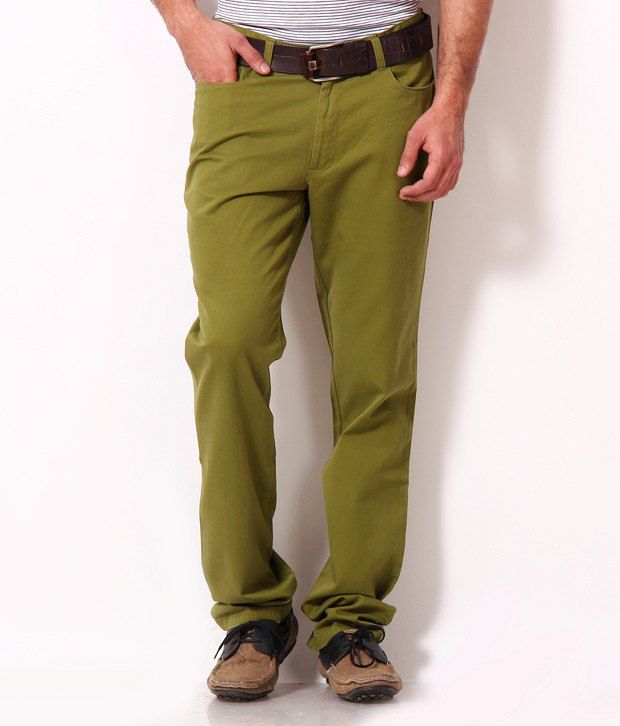 John Players Happening Green Trousers