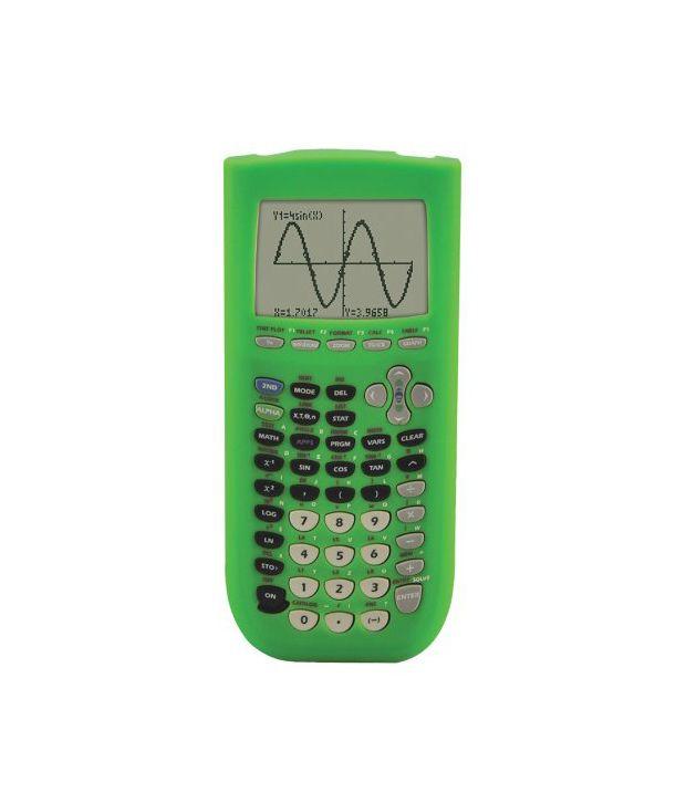 Guerrilla Green Case Silicone For Texas Instruments TI 84