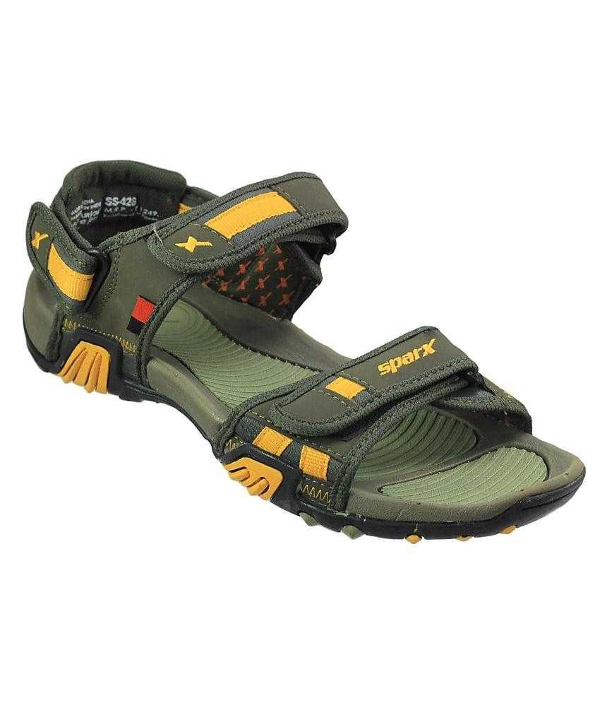 9773770322748e Sparx Yellow   Green Floater Sandals For Men Art SS428OLVGRNYLW - Buy Sparx  Yellow   Green Floater Sandals For Men Art SS428OLVGRNYLW Online at Best  Prices ...