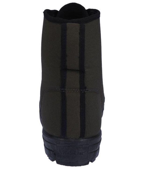 421af8aa721b Unistar Black High Ankle Length Boots Unistar Black High Ankle Length Boots  ...
