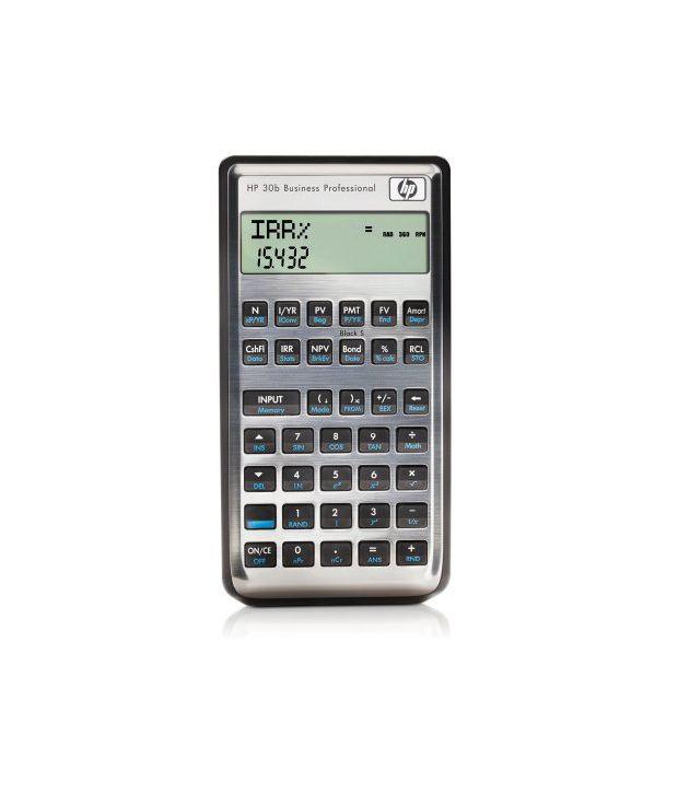 hp 30b business calculator professional buy online at best price inhp 30b business calculator professional buy online at best price in india snapdeal