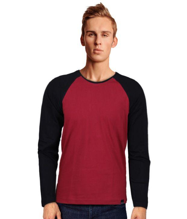 Rigo Smart Red Full Sleeve T-Shirt