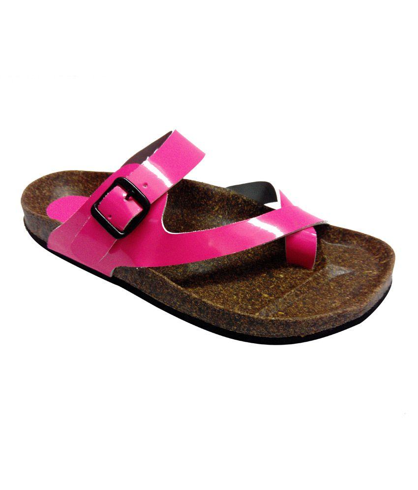 Haroads Slipper for Women-4013 Pink Price in India- Buy ...