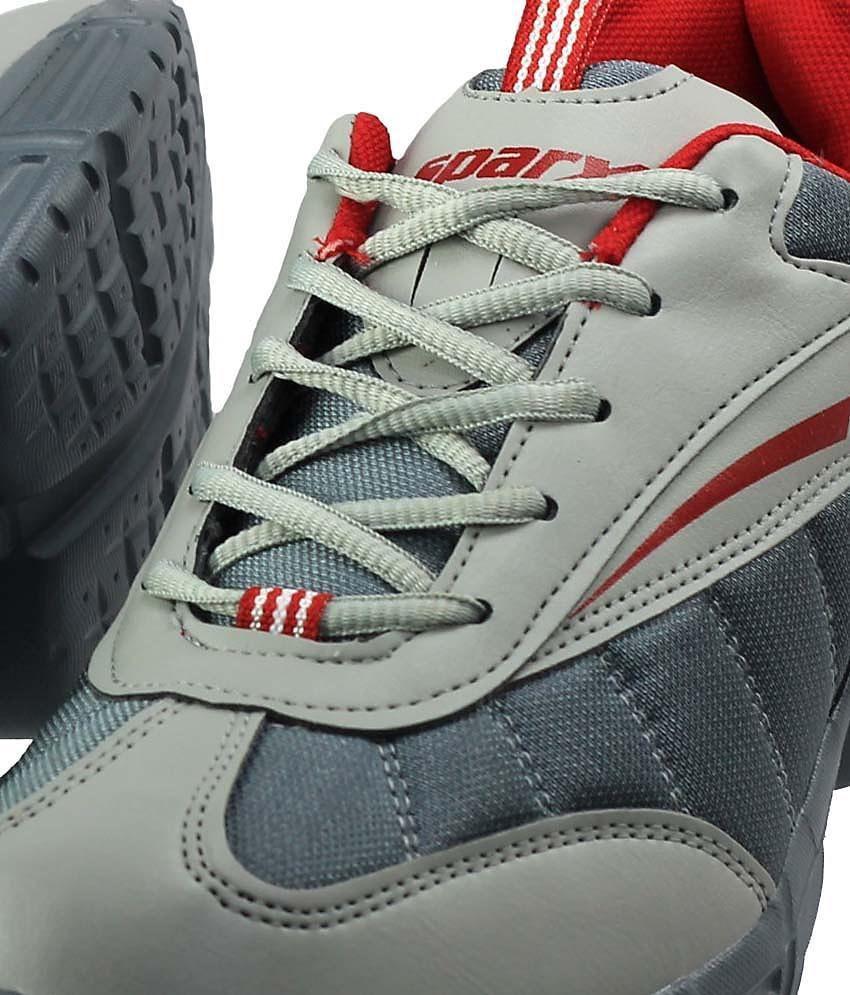 Sparx Vigorous Black & Red Sports Shoes - Buy Sparx