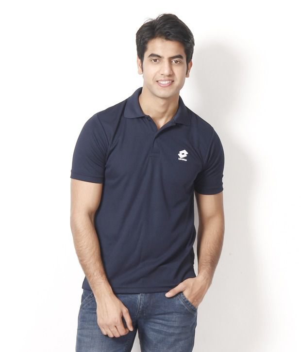 Lotto Cool Navy Polo T Shirt