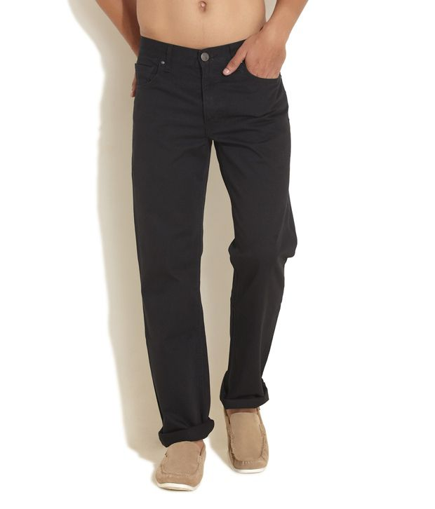 Web Denim Black Basics Jeans