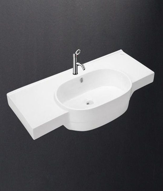 buy hindware under counter wash basin 91037 online at low price in rh snapdeal com