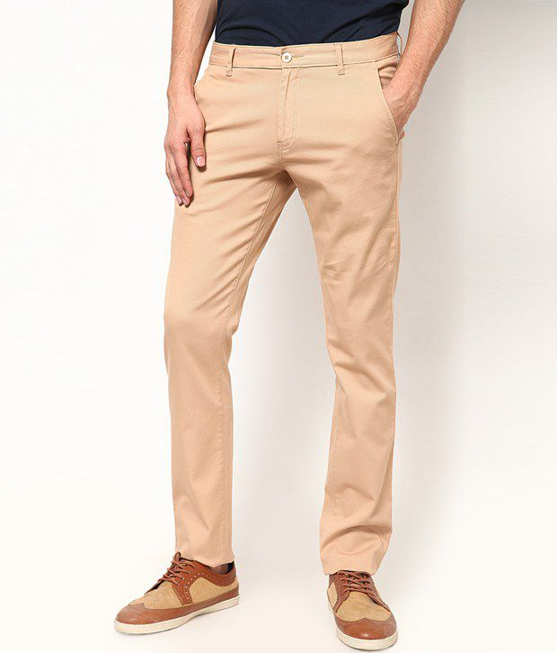 Cotton County Khaki Trouser