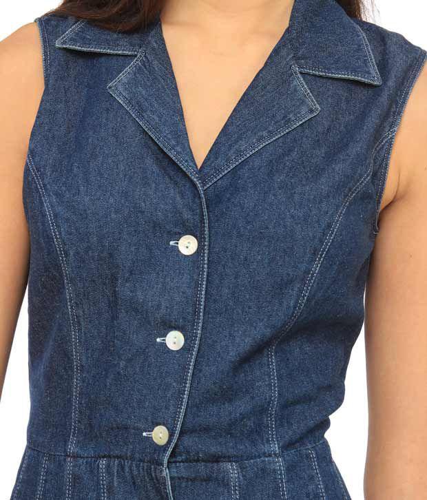 d594848f25ed Ladybug Blue Denim Dresses - Buy Ladybug Blue Denim Dresses Online ...