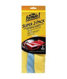 Formula 1 - Super 2 Pack Microfiber Cloth
