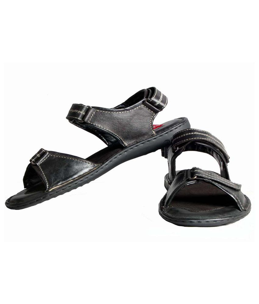 99cells Smart Sedan Black Sandal