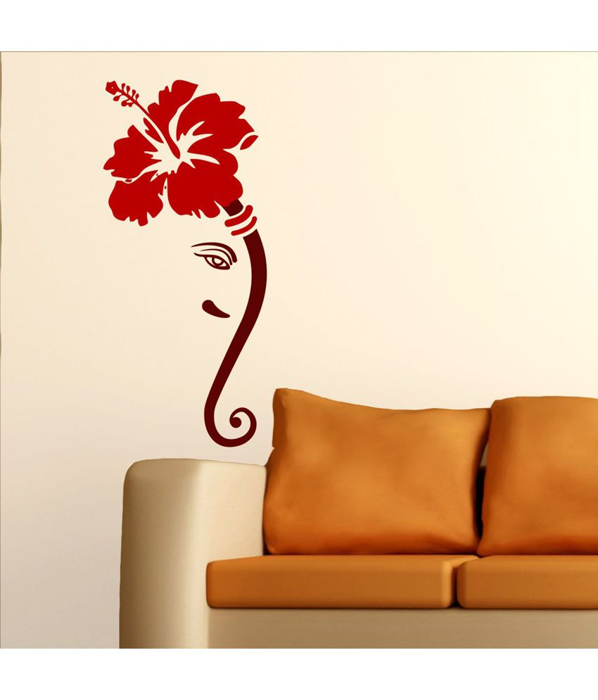 Chipakk Impressive Ganesha Wall Sticker - Buy Chipakk Impressive Ganesha Wall Sticker Online at ...